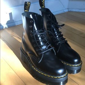 Dr. Martens Black Chunky Boot